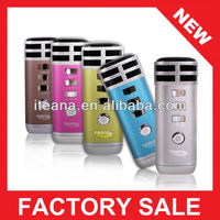 pocket mini karaoke player with standard 3.5 mm audio interface