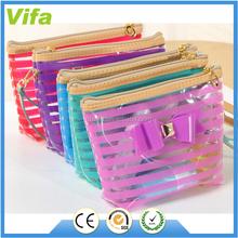 Portable Makeup Bags Lipstick Transparent Pouch PVC Cosmetic Case Bag Waterproof