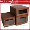 NAHAM Cardboard Folding Shoe Box Storage Box With Lid