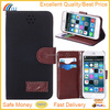 2 Card Slots Phone Case for iPhone 6, Leathe Mobile Phone Case for iphone 6