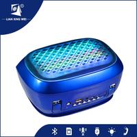 Music car speaker with TF/USB/FM radio portable mini USB radio speaker laptop computer woofer speaker