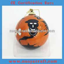 Newest Popular High quality halloween ornaments with 7cm diameter ball