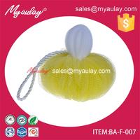 2015 hot selling eco bath foam sponge exfoliating bath sponge shower pouf BA-F-007