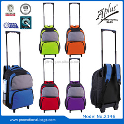 leisure trolley backpack with padded handle 2146#