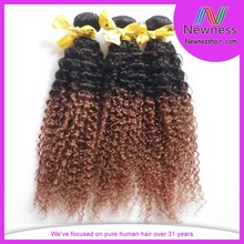 Wholesale factory discount best quality kinky curly zury indian hair