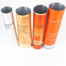 Cosmetic tube manufacturers wholesale hand cream aluminum metal tubes for hand cream