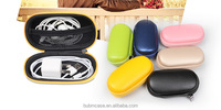 Wholesale BUBM Cell phone accessories earbud case with mesh pocket PU leather earphone