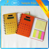 composition notebook cheap bulk wholesales sprial notebook with calculator /