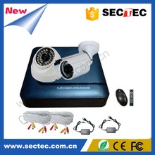 China 10 Years Experienced!!! 2Ch 1.3Megapixels AHD security camera Kit System/HD-AHD Camera Kit Security CCTV Camera Kit