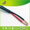Hangzhou high quality high end speaker cable transparent black and red rohs speaker