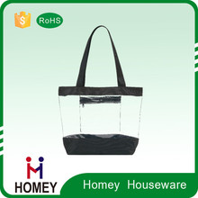 Hot Selling Low Price Promotional Collapsible Vinyl Tote Bags