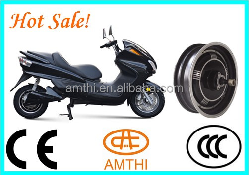 High Power 3kw electric scooter motor with CE, dc hub motor 48v 3kw, high power brushless hub motor, AMTHI