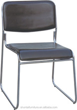 Hot selling PVC conference chair/meeting room chair students writing desk