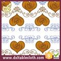 # Df016b de PVC transparente de transferencia de mesa de tela con no tejido forro