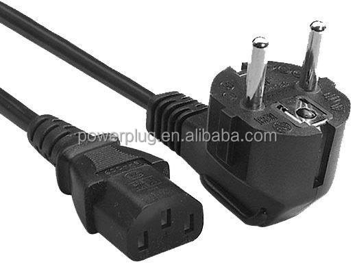 3 Pin Plug Connector Euro Schuko 3 Pin Plug to Iec