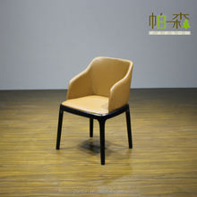 solid wood new popular replica design leather Poliform grace chair