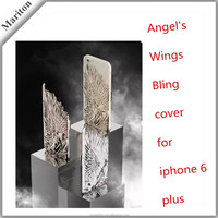 Luxury Ultra-thin Case for iPhone 6 Plus Angel Wing PC Back Cover Case