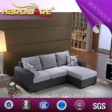 Alta- qualidade com estrutura de madeira sólida sofa sofá vermelho set3+1/sofá da sala de móveis