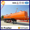 2 Axle 40000 Liter Fuel Tanker Semi Trailer Diesel Storage Tank Trailer For Sale