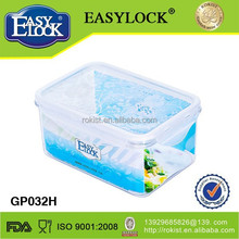 watertight heatproof storage lock and lock plastic sharp container with locks