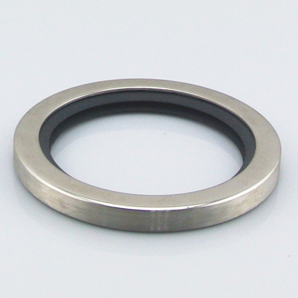 Double lips stainless steel ptfe oil seal view