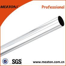 Hot Sale various size chrome steel tube/diameter 30cm round wardrobe tube