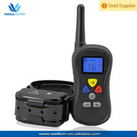 Rechargeable and waterproof remote dog beeper collar PTS-018