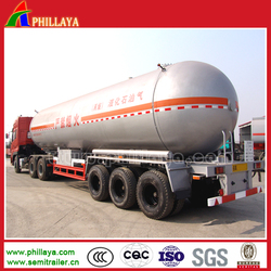2015 Top Ranking 2-4 Axles LPG Gas Tank For Sale/25-60M3 Propane Tanker Semi Trailer