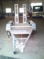 american manufacturing trailers 15 ton low bed trailer