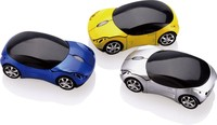 2015 Blue LED Racing Car USB Optical Personalized Wireless Mouse