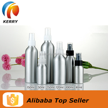 Perfume Aluminum Bottle With Spray For Packaging