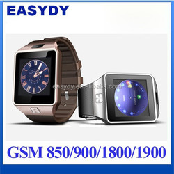 Shenzhen Factory offer GV08! 1.54 Inch HD Screen GSM Smart Watch GV08 for android IOS Phone, Bluetooth Smart Watch GV08