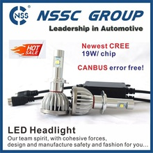 Hot Sale !!! CREE XHP50 led headlight 38w 4500lm car led headlight best quality led car headlight bulbs
