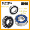 Rear Wheel Bearings for Honda Fit, Deep Groove Ball Bearings for 125CC,150CC Motorcycles