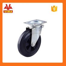 Roller bearing high quality wheel & VIMA castor wheel waste bin wheel