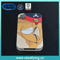 mobile phone accessories plastic sex girl IMD slim phone case for iPhone 5