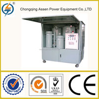 Professional waste motor oil re-refining equipment