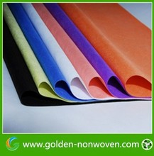colorful small dot Non-woven polypropylene fiber for making eco shopping bags