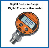 Battery operated digital pressure gauge digital air pressure gauge digital hydraulic pressure gauge