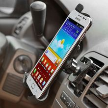 Factory Recycling Handfree Cellphone Double Pole Car Mount With Lowest Price Easy One Touch Car Holder