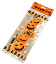 Promotional Halloween cello loot bag cellophane bags