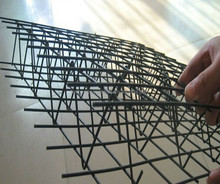 3D Polyfoam / EPS Welded wire mesh fence panel(factory, ISO9001)