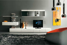 white silver simple tv wall mount cabinet
