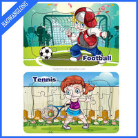 Wholesale Custom educational toy puzzle school life puzzle game for kids