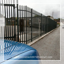 "72"" height wrought iron fence"
