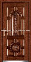 Craft steel wood door , fabricated steel doors