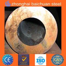 tuberia de acero con gran diametro y gran espesor