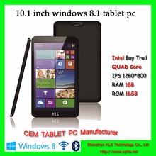 1.83GHz tablet pc, windows8.1 android pc tablet, quad core intel atom mid tablet