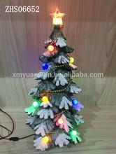 2015 Hot venta llevó la decoración del árbol de navidad con música