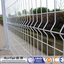 ISO9001 certifcated high quality bending v profile mesh fencing